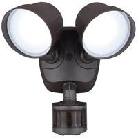 Vaxcel T0345 Delta LED 9 inch Bronze Outdoor Wall Light
