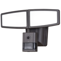 Vaxcel T0353 Epsilon Ii LED 8 inch Bronze Outdoor Wall Light