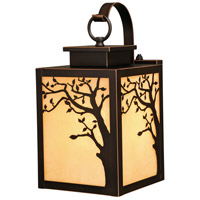 Vaxcel T0354 Alberta 1 Light 13 inch Burnished Bronze Outdoor Wall