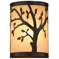 Vaxcel T0357 Alberta 1 Light 11 inch Burnished Bronze Outdoor Wall
