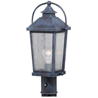 Vaxcel T0379 Lexington 1 Light 18 inch Colonial Gray Outdoor Post