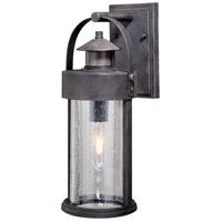 Vaxcel T0384 Cumberland 1 Light 16 inch Rust Iron Outdoor Wall Light