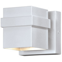 Vaxcel T0399 Lavage LED 5 inch Painted Satin Nickel Outdoor Wall Light