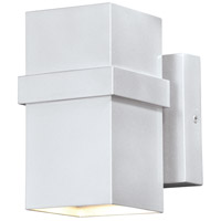 Vaxcel T0400 Lavage LED 7 inch Painted Satin Nickel Outdoor Wall Light
