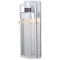 Logan LED 18 inch Painted Satin Nickel Outdoor Wall Light