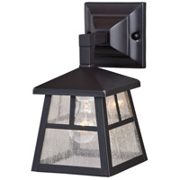 Vaxcel T0441 Mission 1 Light 11 inch Oil Burnished Bronze Outdoor Wall Sconce