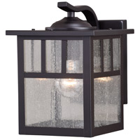 Vaxcel T0443 Mission 1 Light 10 inch Oil Burnished Bronze Outdoor Wall Sconce