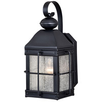 Vaxcel T0463 Revere 1 Light 15 inch Oil Rubbed Bronze Outdoor Wall Sconce