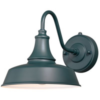 Vaxcel T0482 Dorado 1 Light 13 inch Hunter Green with Inner White Outdoor Wall Sconce