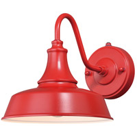Vaxcel T0486 Dorado 1 Light 13 inch Red with Inner White Outdoor Wall Light