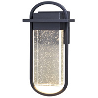 Vaxcel T0496 South Loop LED 14 inch Textured Black Outdoor Wall Light