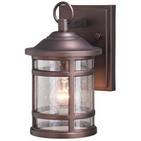 Vaxcel T0517 Southport 1 Light 10 inch Sienna Bronze Outdoor Wall