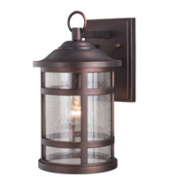Vaxcel T0519 Southport 1 Light 15 inch Sienna Bronze Outdoor Wall