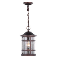 Vaxcel T0520 Southport 1 Light 9 inch Sienna Bronze Outdoor Pendant