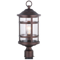 Vaxcel T0521 Southport 1 Light 20 inch Sienna Bronze Outdoor Post photo thumbnail