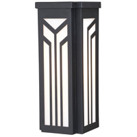 Vaxcel T0562 Evry 1 Light 12 inch Oil Rubbed Bronze Outdoor Wall