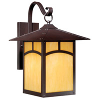 Vaxcel TL-OWD110EB Mission II 1 Light 17 inch Espresso Bronze Outdoor Wall Light photo thumbnail
