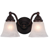Vaxcel VL35122OBB Standford 2 Light 13 inch Oil Burnished Bronze Bathroom Light Wall Light