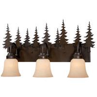 Vaxcel VL55503BBZ Yosemite 3 Light 25 inch Burnished Bronze Bathroom Light Wall Light