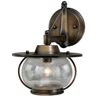 Vaxcel W0017 Jamestown 1 Light 10 inch Parisian Bronze Bathroom Light Wall Light