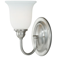 Vaxcel W0072 Concord 1 Light 6 inch Satin Nickel Vanity Light Wall Light