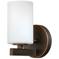 Vaxcel W0121 Glendale 1 Light 5 inch Sienna Bronze Vanity Light Wall Light