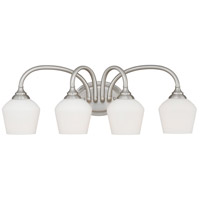 Vaxcel W0144 Grafton 4 Light 26 inch Satin Nickel Vanity Light Wall Light