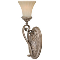 Vaxcel W0154 Avenant 1 Light 6 inch French Bronze Vanity Light Wall Light