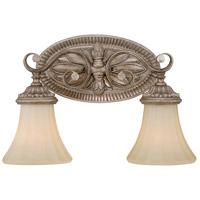 Vaxcel W0155 Avenant 2 Light 16 inch French Bronze Vanity Light Wall Light