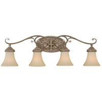 Vaxcel W0157 Avenant 4 Light 34 inch French Bronze Bathroom Light Wall Light