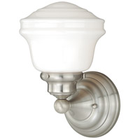 Satin Nickel Huntley Bathroom Vanity Lights