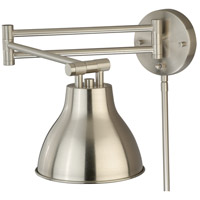Satin Nickel Swing Arm Wall Sconces