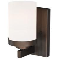 Vaxcel W0215 Sorin 1 Light 5 inch Architectural Bronze Bathroom Light Wall Light