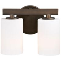 Vaxcel W0228 Glendale 2 Light 5 inch Sienna Bronze Vanity Light Wall Light
