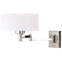 Chapeau 1 Light 12 inch Polished Nickel Sensor Wall Light