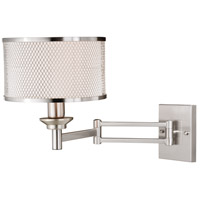 Polk 1 Light 10 inch Satin Nickel Sensor Wall Light
