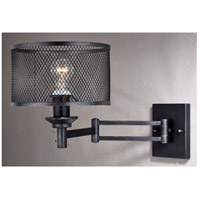 Vaxcel W0260 Polk 1 Light 10 inch Warm Pewter Sensor Wall Light alternative photo thumbnail