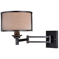 Polk 1 Light 10 inch Warm Pewter Sensor Wall Light