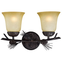 Steel Sierra Bathroom Vanity Lights