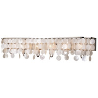 Vaxcel W0272 Elsa 6 Light 42 inch Satin Nickel Vanity Light Wall Light