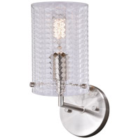 Vaxcel W0278 Ella 1 Light 5 inch Satin Nickel Wall Light