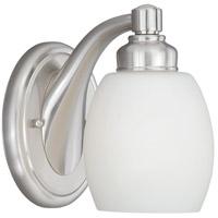 Vaxcel W0291 Lucy 1 Light 5 inch Satin Nickel Bathroom Light Wall Light