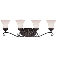 Vaxcel W0304 Avenant 4 Light 34 inch Venetian Bronze Bathroom Light Wall Light
