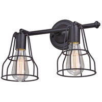 Steel Clybourn Bathroom Vanity Lights