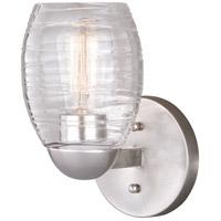 Vaxcel W0315 Isley 1 Light 7 inch Satin Nickel Bathroom Light Wall Light