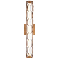 Vaxcel W0360 Marseille LED 24 inch Natural Brass Bathroom Bar Wall Light