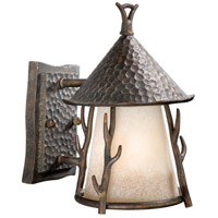 Vaxcel WD-OWD070AA Woodland 1 Light 10 inch Autumn Patina Outdoor Wall