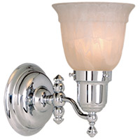 Vaxcel WL28961CH Swing Arm 1 Light 5 inch Chrome Vanity Light Wall Light