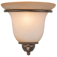 Vaxcel WS35461RBZ/B Monrovia 1 Light 10 inch Royal Bronze Wall Light