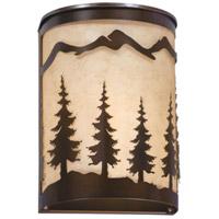 Vaxcel WS55508BBZ Yosemite 1 Light 8 inch Burnished Bronze Wall Light